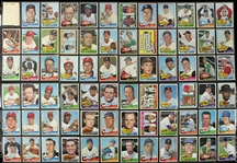 1965 Topps Baseball Trading Cards - Lot of 144 Cards