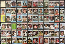 1964 Topps Baseball Trading Cards - Lot of 108 Cards