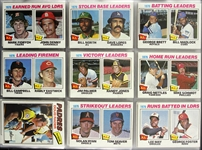 1977 Topps Baseball Trading Cards New Complete Set (659/660)