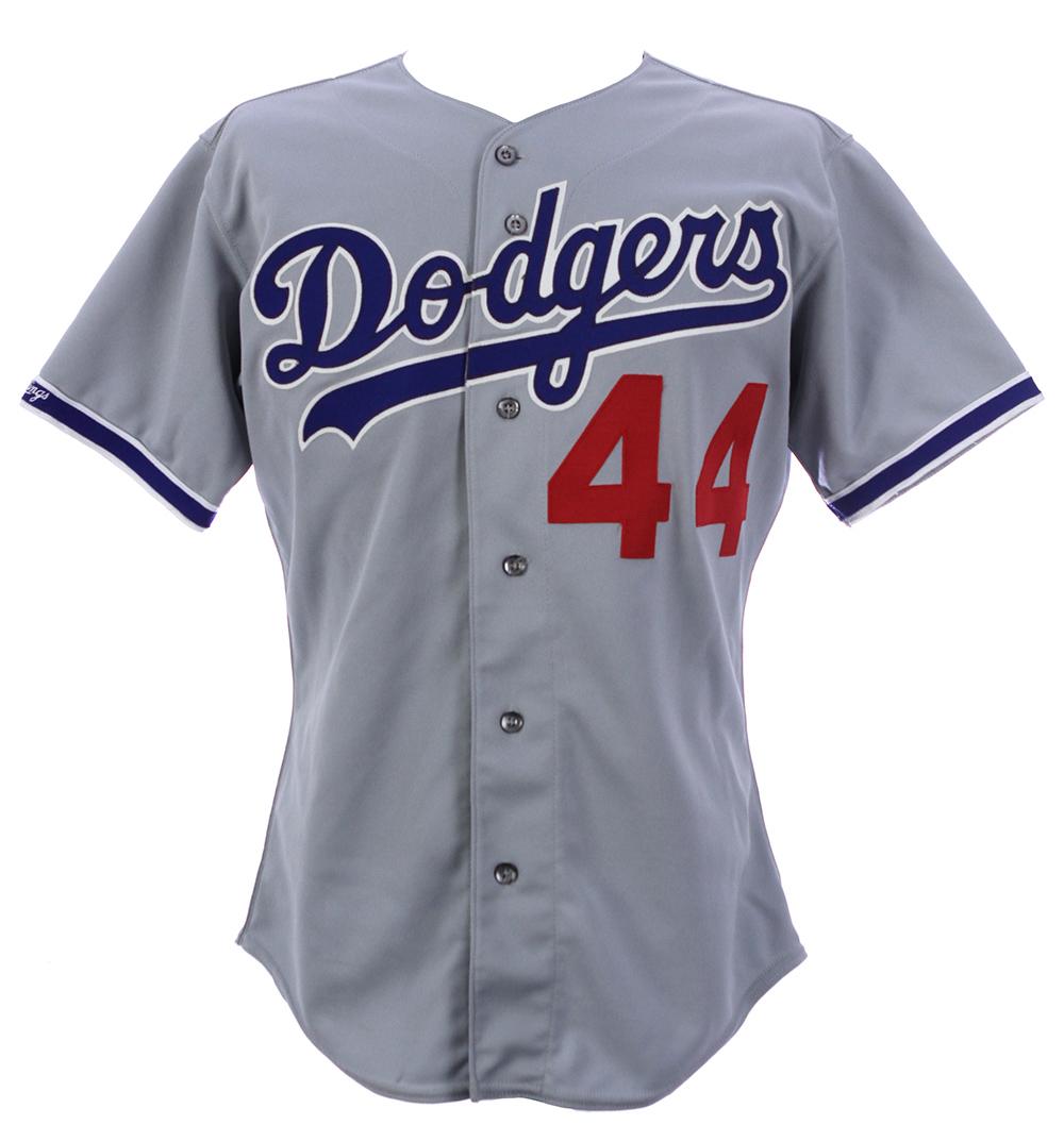 pretty nice 562c9 70dd3 Lot Detail - 1991 Darryl Strawberry Los Angeles Dodgers Game ...