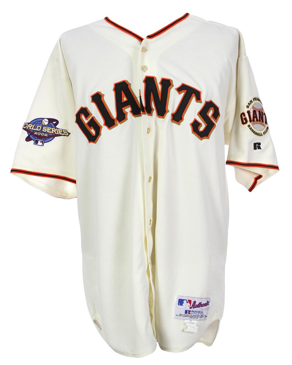 newest ead8a b361a Lot Detail - 2002 Tim Worrell San Francisco Giants World ...