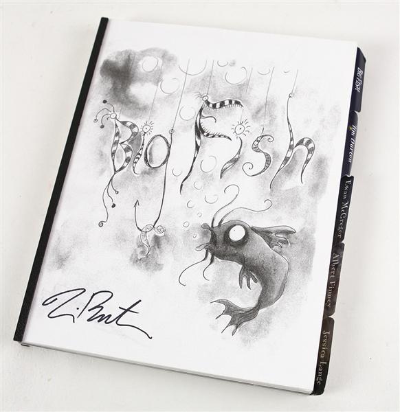 Lot detail 2003 tim burton big fish signed shooting for Big fish script