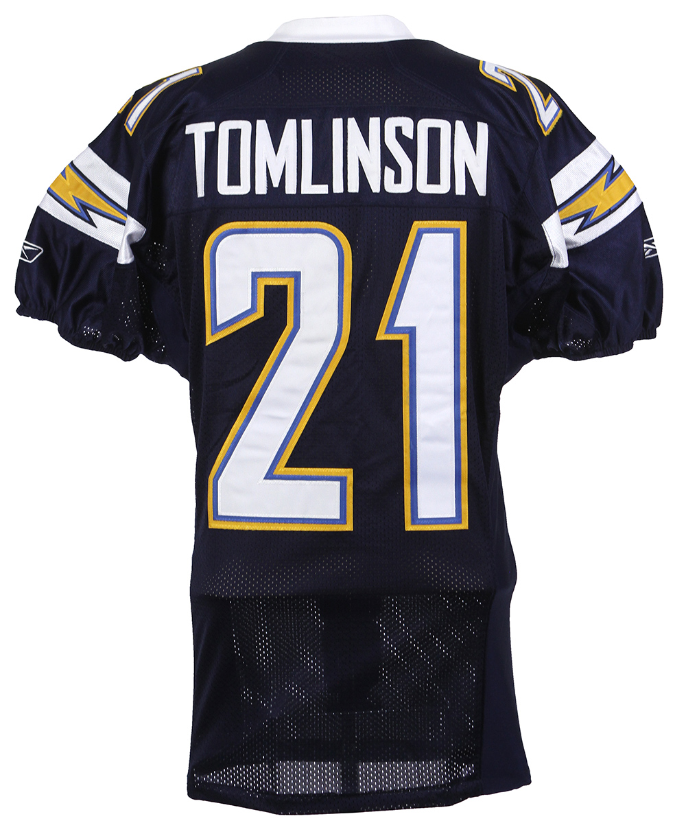San Diego Chargers Home Games: 2007 LaDainian Tomlinson San Diego Chargers