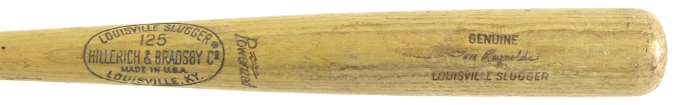 1969-72 Tom Reynolds Athletics/Angels/Brewers H&B Louisville Slugger Professional Model Game Used Bat (MEARS LOA)
