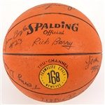 1977-78 Marquette Warriors Team Signed Basketball w/ 12 Signatures Including Butch Lee, Ulice Payne, Jim Boylan & More (MEARS LOA)