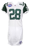2003 (August 2) Curtis Martin New York Jets Signed Tokyo Dome Preseason Jersey (MEARS LOA/JSA)
