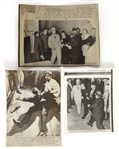1963-68 John F. & Robert F. Kennedy Assassinations Wire Photo Collection - Lot of 3