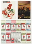 1974 Chicago Fire New York Stars WFL Memorabilia Collection - Lot of 3 w/ Media Guides & Unused Season Ticket Sheet