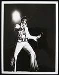 "1977-79 Elvis Presley King of Rock N Roll 7"" x 9"" CBS ""Elvis In Concert"" Promo Photo"