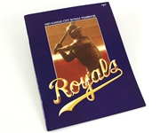 1983 Kansas City Royals Yearbook (MEARS LOA)