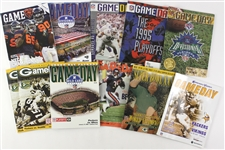 1989-2011 Green Bay Packers Gameday Program Collection - Lot of 11 w/ Super Bowl XXXI, Postseason & More