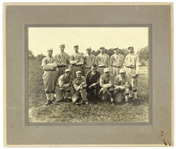 "1910s Catonsville K of C Baseball 11.5"" x 13.5"" Matted Team Photo"