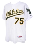 2003-05 Barry Zito Oakland Athletics Home Jersey (MEARS LOA)