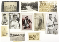 1900s-50s Baseball Football Basketball Americana Snapshot & Postcard Collection - Lot of 10