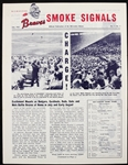 1963 (June) Milwaukee Braves Smoke Signals Official Team Publication