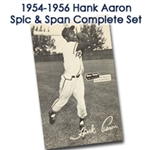 "1954-56 Milwaukee Braves Spic N Span 4"" x 6"" Postcards - Complete Set of 18"