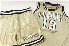 1992-94 Glenn Robinson Purdue Boilermakers Signed Practice/Game Apparel- Lot of 4 w/ Jerseys & SHorts (MEARS LOA/JSA/Purdue Letter)