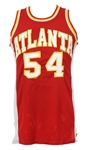 1979-81 Tom McMillen Atlanta Hawks Game Worn Road Uniform (MEARS LOA)