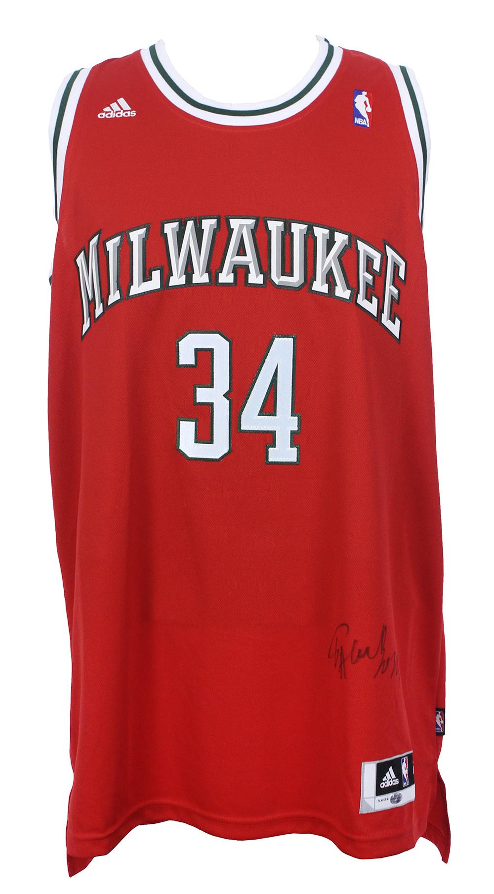 Lot Detail - 2013-16 Giannis Antetokounmpo Milwaukee Bucks ...