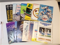 Baseball Playoff Programs – Lot of 29 (JSA)