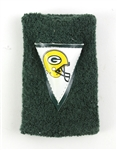 1980s Green Bay Packers GameWorn LogoWristband