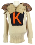1920s Football Sweater Uniform and Leather Shoulder Pads