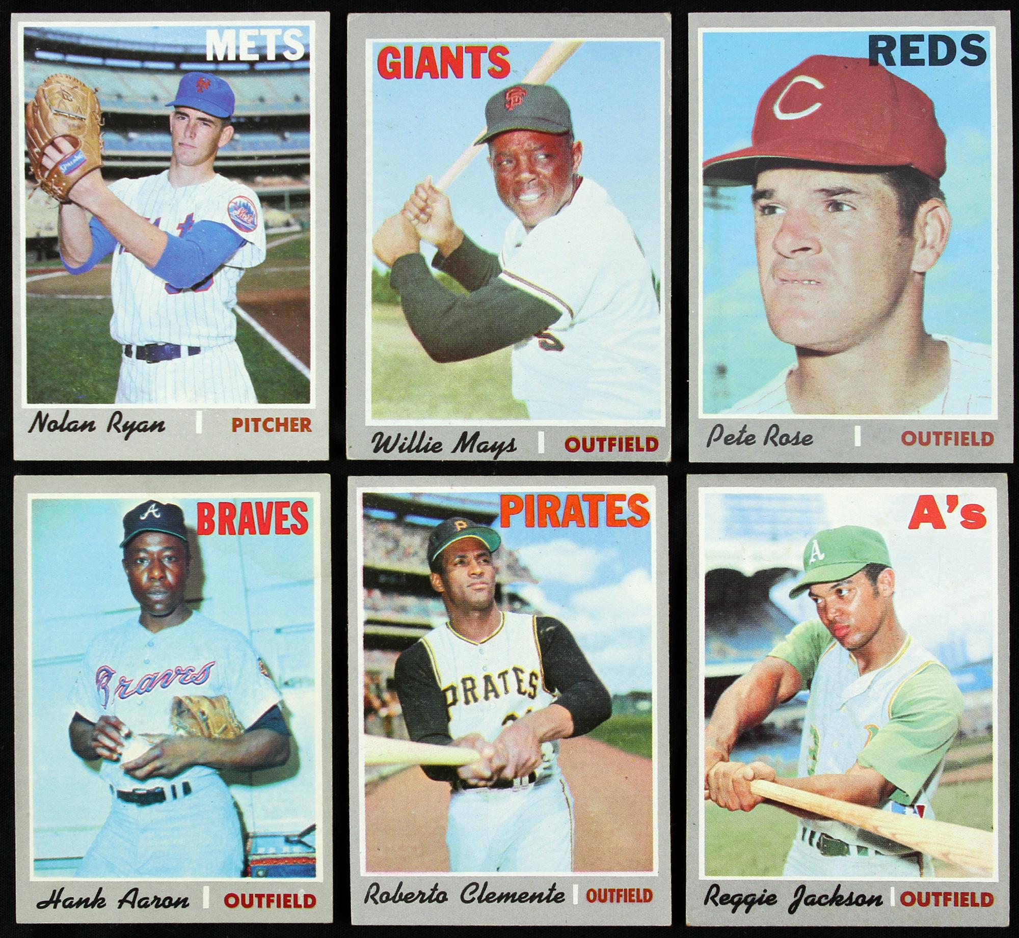 1970 Topps Baseball Trading Cards Complete
