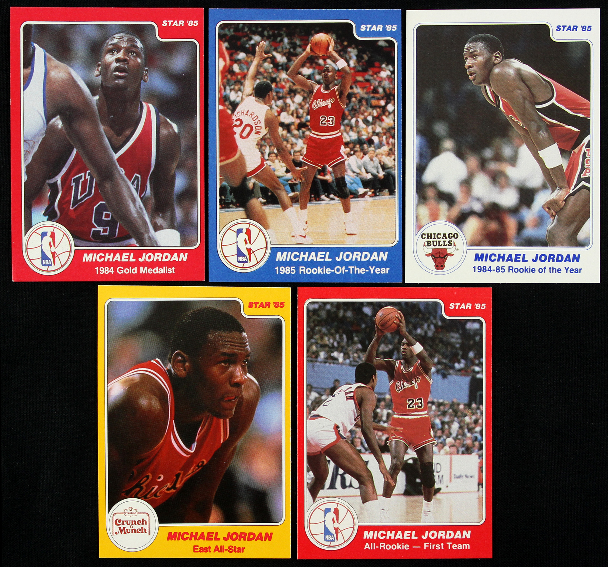 Lot Detail 1984 85 Star Basketball Trading Cards Lot Of