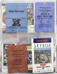 1960-90s Football Basketball Baseball Hockey Ticket & Pass Collection - Lot of 175