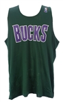 1990s Milwaukee Bucks Reversible Practice Jerseys - Lot of 2 (MEARS LOA)