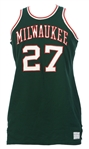 1968-69 Rich Niemann Milwaukee Bucks #27 Game Worn Pre Season Road Jersey (MEARS LOA)