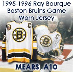 classic fit 712e9 8bda3 Lot Detail - 1995-96 Ray Bourque Boston Bruins Game Worn ...
