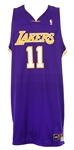 2003-04 Karl Malone Los Angeles Lakers Road Jersey (MEARS LOA)
