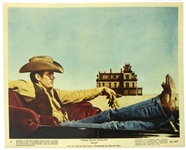 "1956 Giant James Dean 8"" x 10"" Mini Lobby Card 56/497"