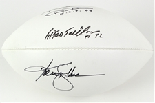 "2000s Ken Stabler Mike Ditka Ed ""Too Tall"" Jones Multi Signed ONFL Goodell Autograph Football (JSA)"
