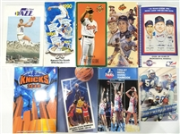 1980s – Present Basketball, Football, Baseball Media Guide Collection (1,500+)