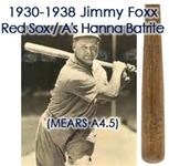 1930s Jimmie Foxx Athletics/Red Sox Batrite Professional Model Bat (MEARS A5 & PSA/DNA)