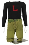 1920s Football Jersey Sweater and Pants