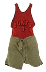 1920s Dukes Basketball Jersey & Shorts (Complete Uniform)