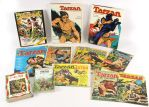 1948-97 Tarzan Publication Collection - Lot of 11 w/ Hardcover, Comic Books & More