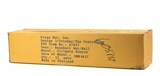 1996 Pizza Hut The Controller David Cone and The Crusher Mike Piazza Baseball Set (12 sets)