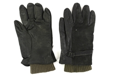 1941-1945 WW2 Officers Leather Gloves with Winter Liner