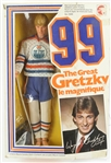 "1983 Wayne Gretzky Edmonton Oilers ""The Great Gretzky Le Magnifique"" Mattel Doll"