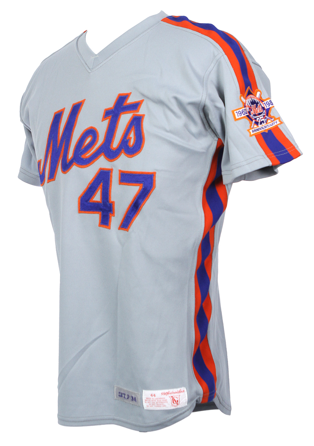 6122ab06d93 ... uk 1986 1996 new york mets game worn jerseys including rick aguilera dwight  gooden. tap
