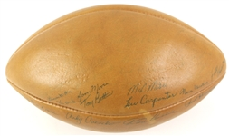 1961 Green Bay Packers Autographed Football