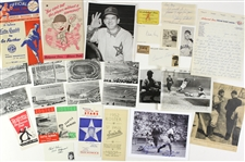 1940s-1950s PCL Collection Baseball Programs/Year Books/Rosters/Photos Seattle Rainers, Hollywood Stars, San Francisco Seals, (50+ Items / JSA)