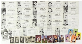 1940's-1950's Promotional Minor League Baseball Cards and Photos
