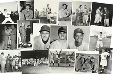 1930's-1950's PCL Hollywood Stars Minor League Baseball Photos and Photo Negatives (Lot of 40+)