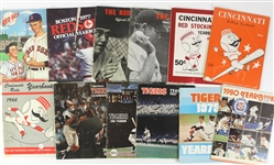 1920s-2000s Baseball/Football Magazines, Yearbooks, Programs (Lot of 250+) *