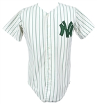 New York Yankees St. Patricks Day Style Jersey (MEARS LOA) *